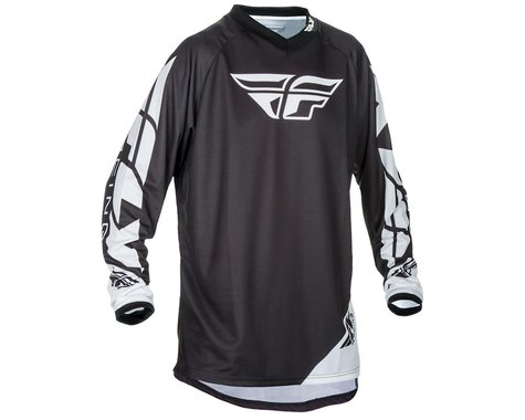 Fly Racing Universal Jersey (Black) (S)