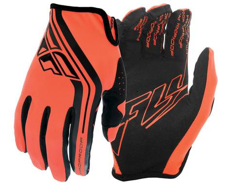 Fly Racing Windproof Gloves (Orange/Black) (S)