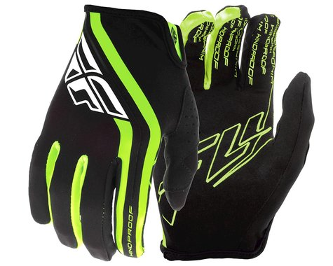 Fly Racing Windproof Gloves (Black/Hi Vis) (S)