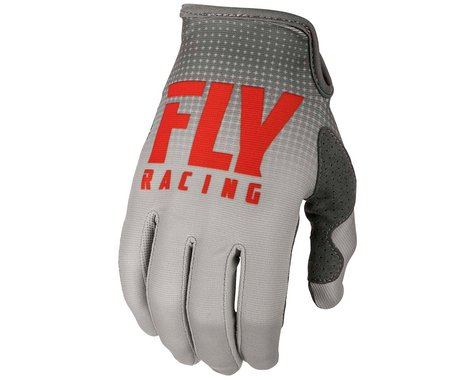 Fly Racing Lite Mountain Bike Glove (Red/Grey)