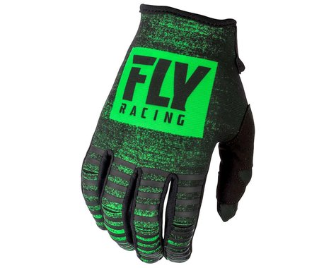 Fly Racing Kinetic Noiz Mountain Bike Glove (Neon Green/Black) (3XL)
