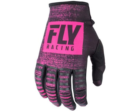 Fly Racing Kinetic Noiz Mountain Bike Glove (Neon Pink/Black) (3XL)