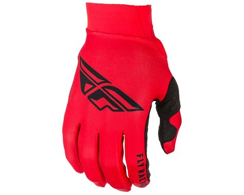 Fly Racing Pro Lite Mountain Bike Gloves (Red/Black) (2XL)
