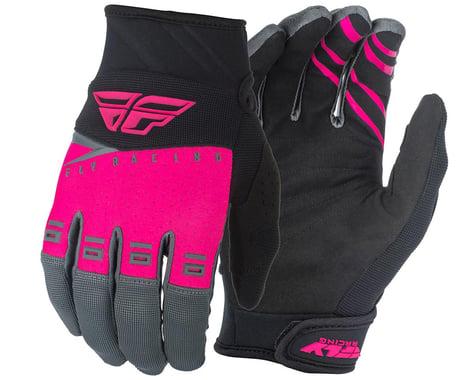 Fly Racing F-16 Gloves (Pink/Black/Grey) (2XL)