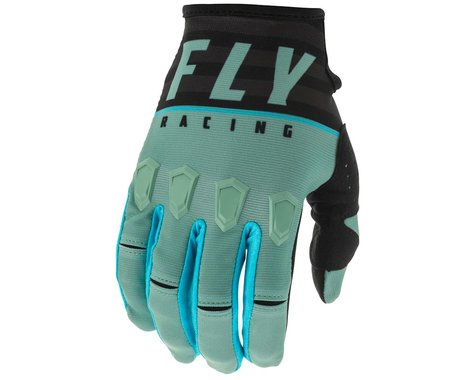 Fly Racing Kinetic K120 Gloves (Sage Green/Black) (L)