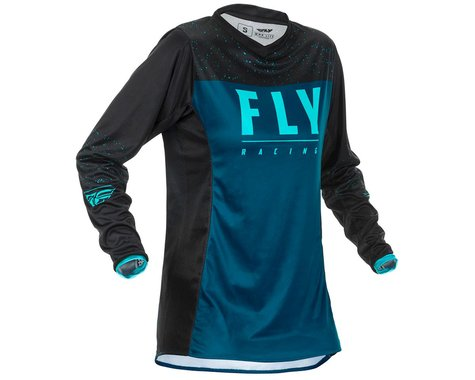 Fly Racing Women's Lite Jersey (Navy/Blue/Black) (YM)