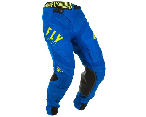Fly Racing Lite Pants (Blue/Black/Hi-Vis) (34)