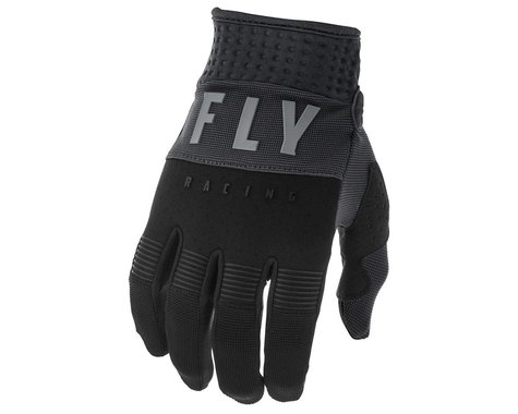 Fly Racing F-16 Gloves (Black/Grey) (Youth 2XS)