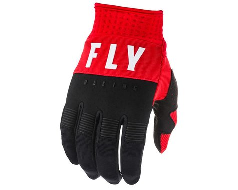 Fly Racing F-16 Gloves (Red/Black/White) (YL)