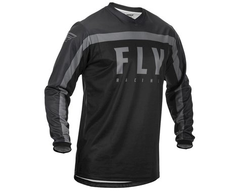Fly Racing Youth F-16 Jersey (Black/Grey)