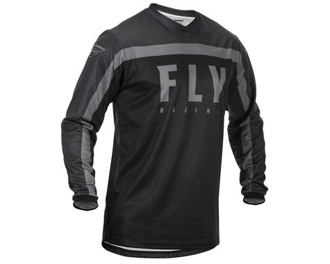 Fly Racing Youth F-16 Jersey (Black/Grey) (YXL)