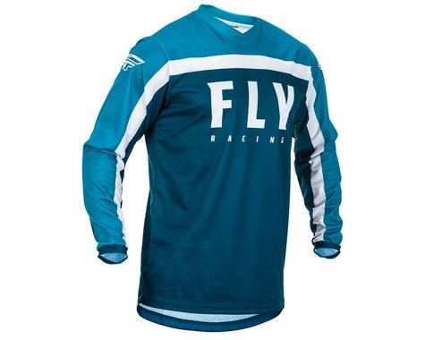 Fly Racing Youth F-16 Jersey (Navy/Blue/White) (YL)