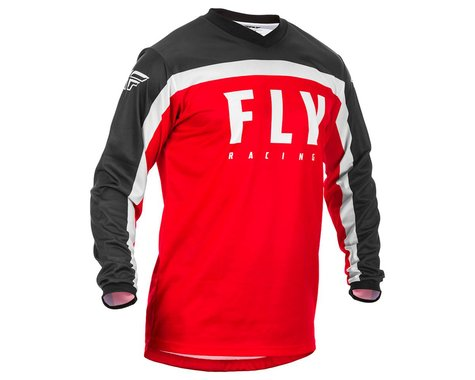 Fly Racing Youth F-16 Jersey (Red/Black/White) (YL) (YXL)