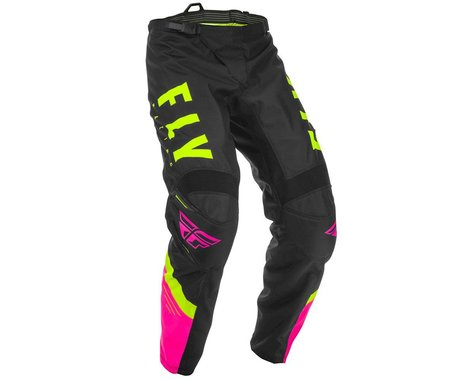 Fly Racing F-16 Pants (Neon Pink/Black/Hi-Vis) (36)