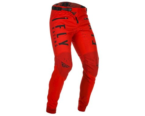 Fly Racing Kinetic Bicycle Pants (Red) (36)