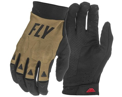 Fly Racing Evolution DST Gloves (Khaki/Black/Red) (XL)