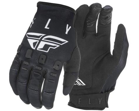 Fly Racing Kinetic K121 Gloves (Black/White) (M)