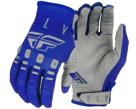 Fly Racing Kinetic K121 Gloves (Blue/Navy/Grey) (3XL)