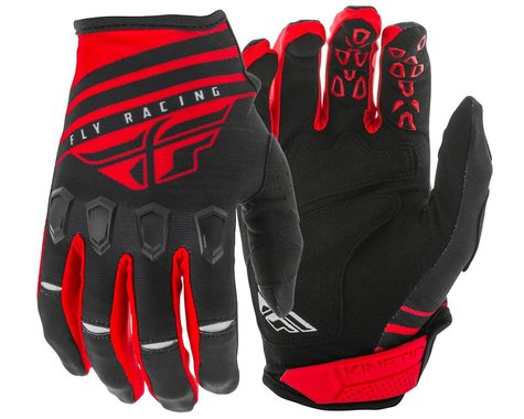Fly Racing Kinetic K220 Gloves (Red/Black/White) (L)