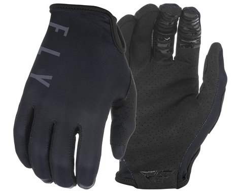 Fly Racing Lite Gloves (Black/Grey) (XL)