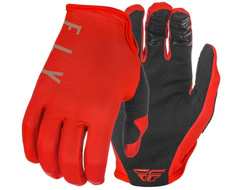 Fly Racing Lite Gloves (Red/Khaki) (XL)