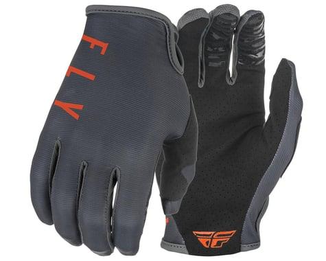 Fly Racing Lite Gloves (Grey/Orange) (L)