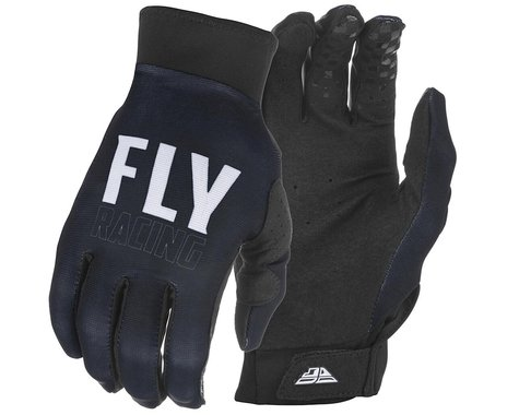 Fly Racing Pro Lite Gloves (Black/White) (XS)