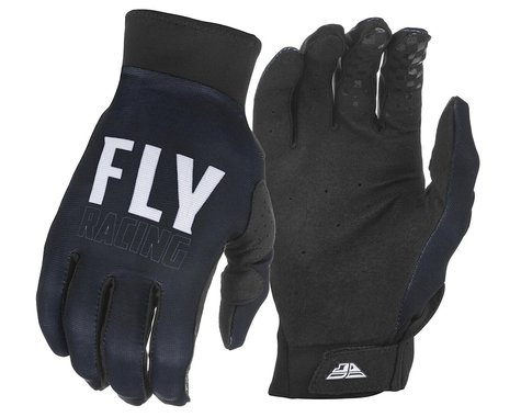 Fly Racing Pro Lite Gloves (Black/White) (M)