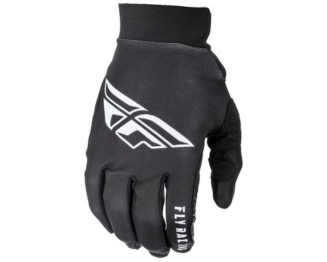 Fly Racing Pro Lite Mountain Bike Gloves (Black/White) (3XL)