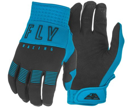 Fly Racing F-16 Gloves (Blue/Black) (YL)