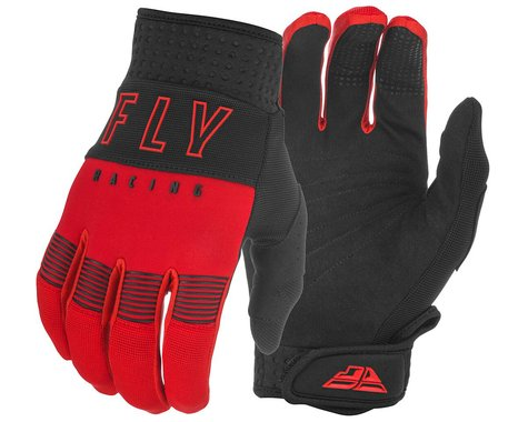 Fly Racing F-16 Gloves (Red/Black) (L)