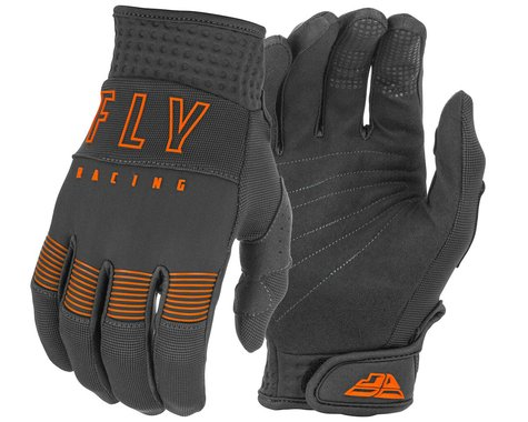 Fly Racing F-16 Gloves (Grey/Orange) (XS)
