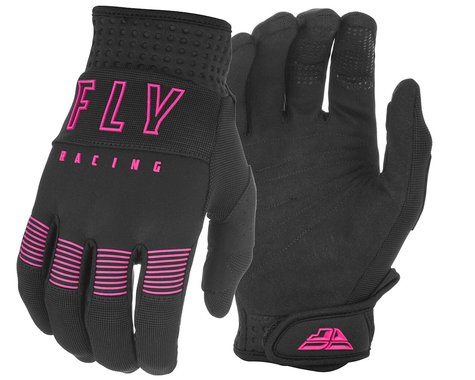 Fly Racing F-16 Gloves (Black/Pink) (L)