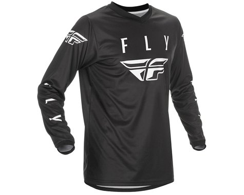 Fly Racing Universal Jersey (Black/White) (S)