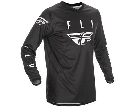 Fly Racing Universal Jersey (Black/White) (XL)