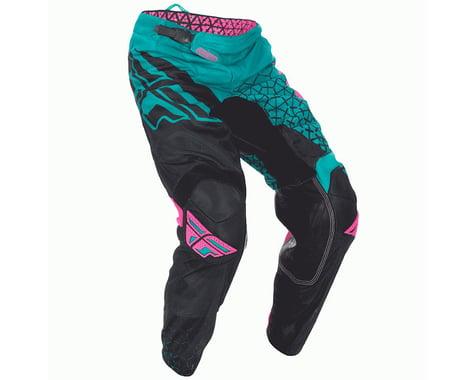 Fly Racing 2016.5 Kinetic Trifecta Mesh Pants (Teal/Pink/Black)