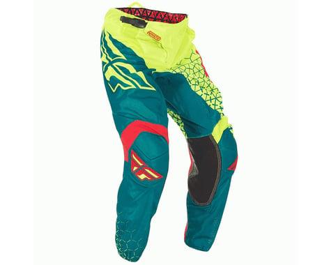 Fly Racing 2016.5 Kinetic Trifecta Mesh Pants (Hi Vis/Teal)