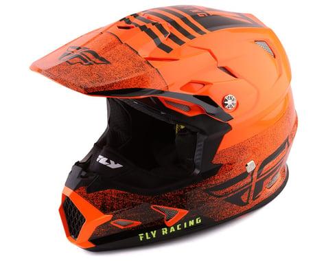 Fly Racing Toxin Embargo Full Face Helmet (Orange/Black) (XS)