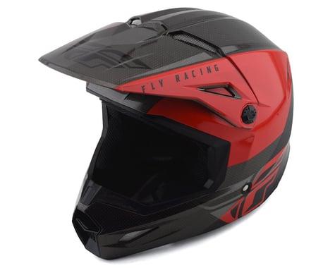 Fly Racing Kinetic K120 Helmet (Red/Black/Grey) (L)