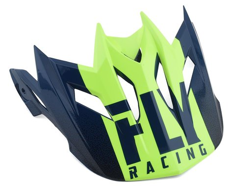 Fly Racing Default Visor (Teal/Hi-Vis)