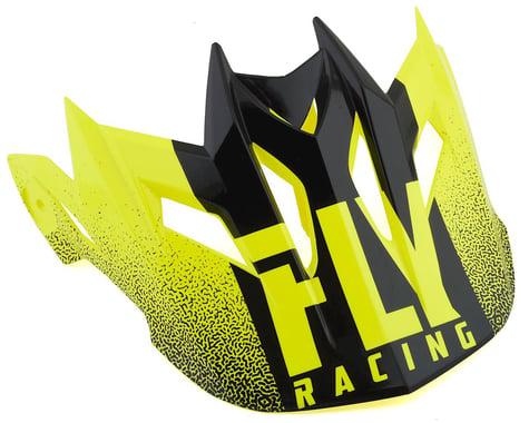 Fly Racing Default Visor (Hi-Vis/Yellow)