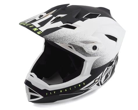 Fly Racing Default Full Face Mountain Bike Helmet (Matte White/Black) (L) (M)