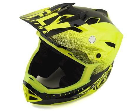 Fly Racing Default Full Face Mountain Bike Helmet (Hi-Vis Yellow/Black) (Kids L)