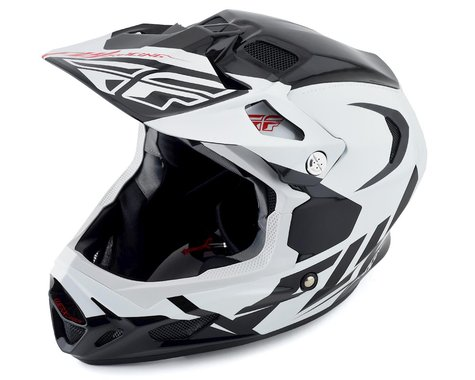 Fly Racing Werx Carbon Full-Face Helmet (Ultra) (White/Black/Red)