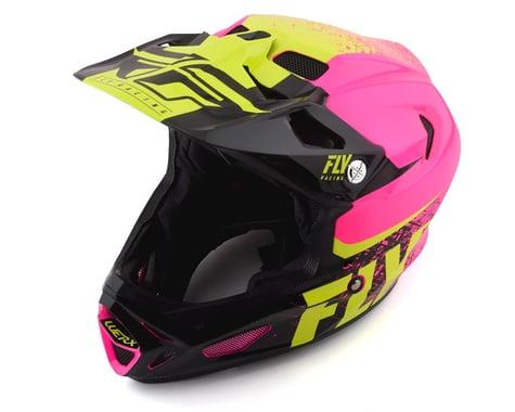 Fly Racing Werx Carbon Helmet (Pink/Hi-Vis) (L)