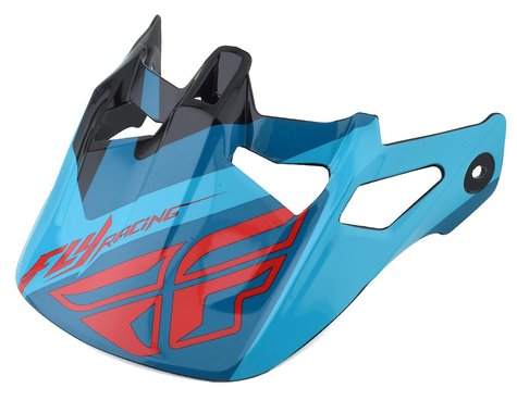 Fly Racing Werx Helmet Visor (Ultra) (Red/Blue/Black)