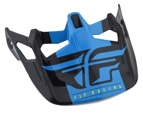 Fly Racing Werx Imprint Visor (Black/Blue)