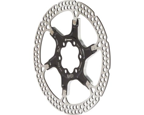 Formula Italy Al Cr 2-Piece Disc Rotor Black 160Mm 6 Bolt