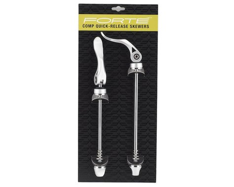 Forte Comp Quick Release Skewer Set (Silver)