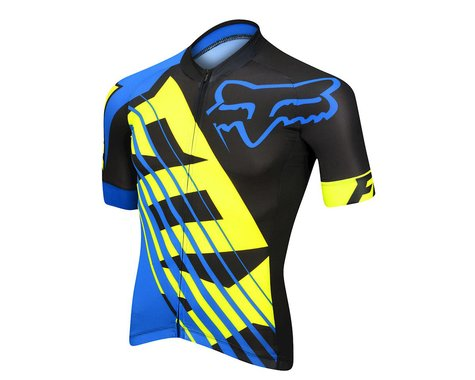 Fox Racing Savant XC Race Short Sleeve Jersey - Limited Edition (Blue)